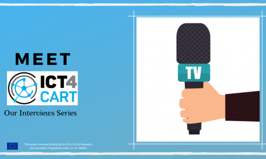 Meet ICT4CART: the interview series continues with #8