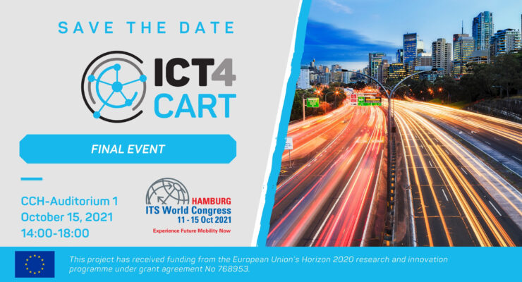 ICT4CART Final Event at the ITS World Congress 2021